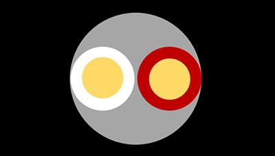 Abbildung 5: Aufbau eines Lautsprecherkabels.